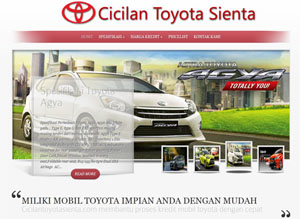Website Dealer Mobil