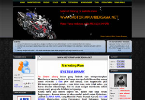 Website Support System Motor Impian Bersama (Binary)